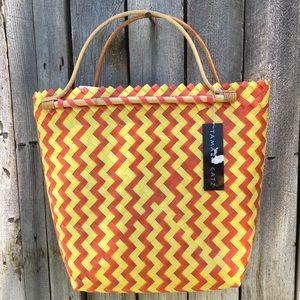 NWT Vintage Tamara Catz Woven Handbag